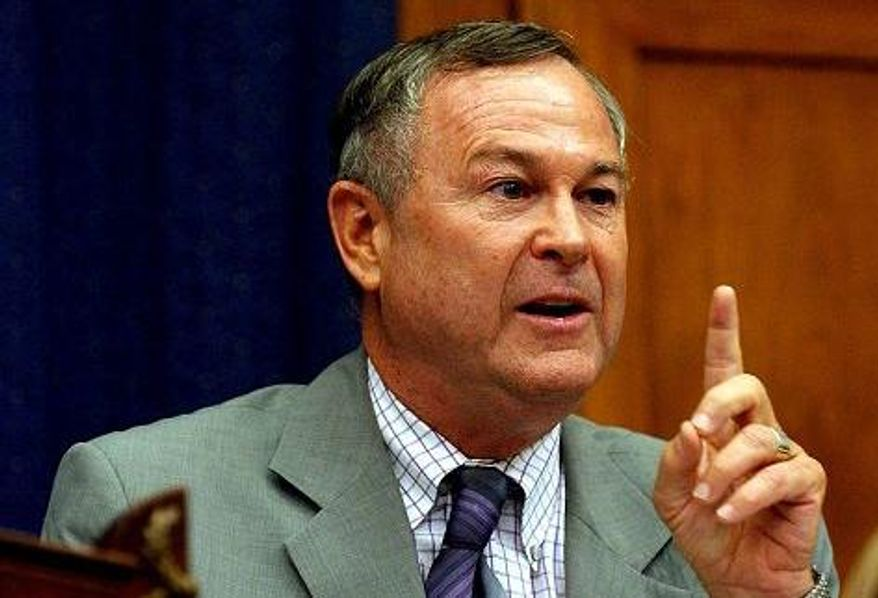 ** FILE ** Rep. Dana Rohrabacher, California Republican (The Washington Times)