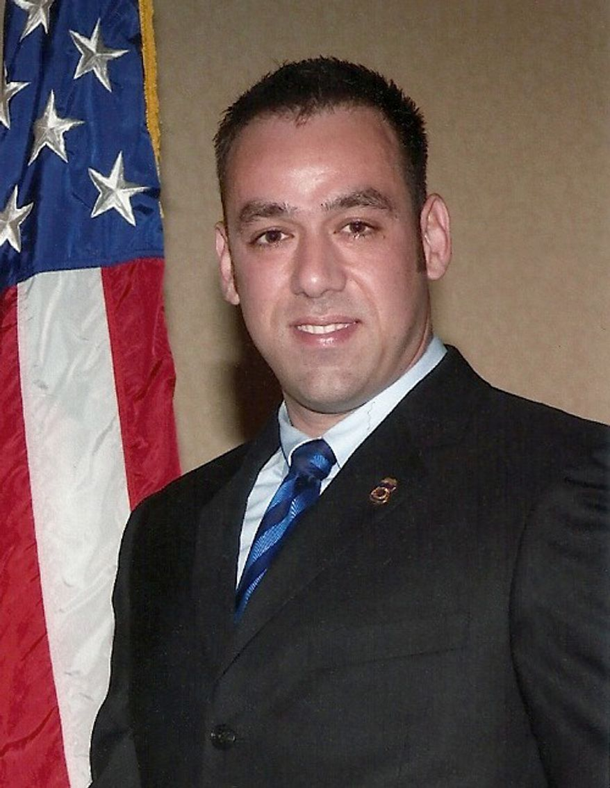 U.S. Immigration and Customs Enforcement (ICE) Agent Jaime Zapata was mortally wounded Feb. 15 during an attack near San Luis Potosi, Mexico. (Courtesy of ICE officials)