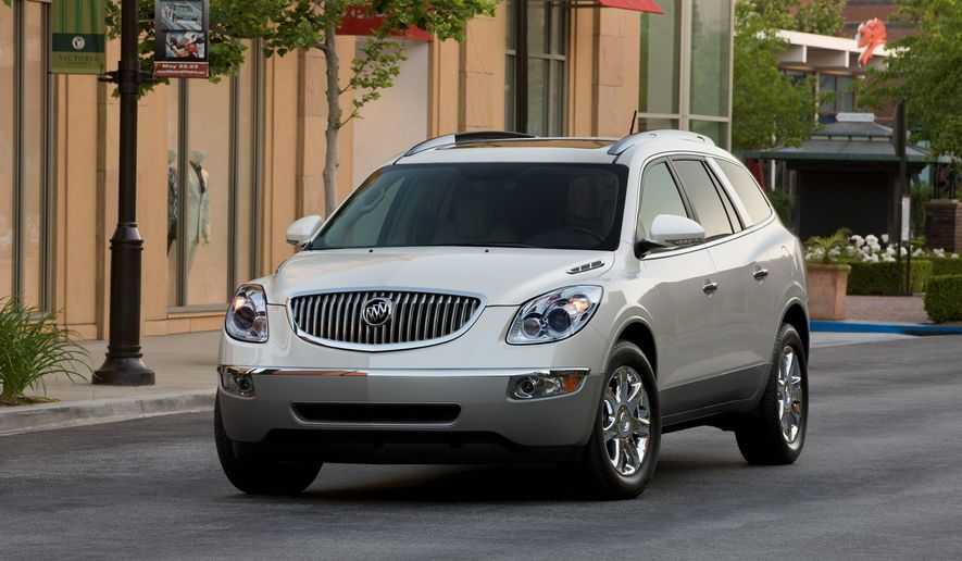 This Buick earned the highest possible marks in both front- and side-impact crash tests.