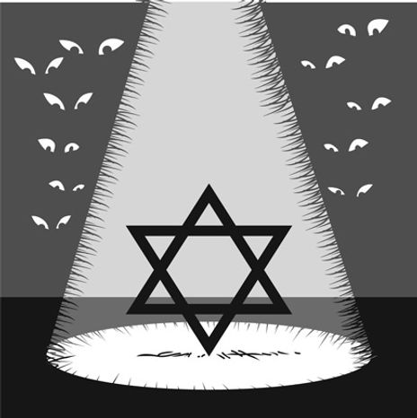 Illustration: Israel by Linas Garsys for The Washington Times