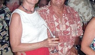 **FILE** Scott and Jean Adam of Marina del Rey, Calif., who were killed by Somali pirates on Tuesday, Feb. 22, 2011, after being taken hostage several hundred miles south of Oman, are pictured in an undated photo from the Del Rey Yacht Club. (AP Photo/Courtesy of Del Rey Yacht Club)