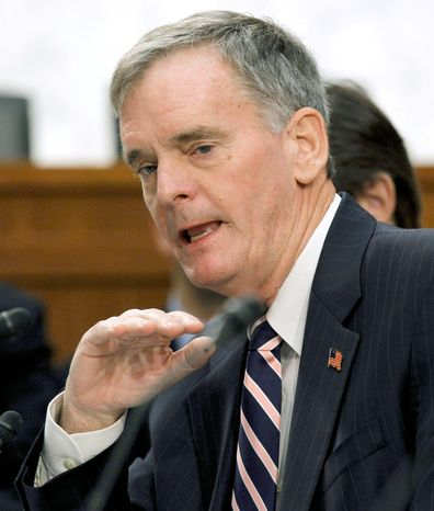 "Former Sen. Judd Gregg said, ""the House is much closer to the intensity of feeling in the American public on ... spending and deficit and debt than the Senate is."" (Associated Press)"
