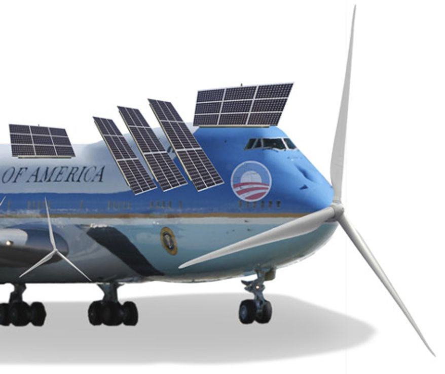 Illustration: Alternative Energy One by Greg Groesch for The Washington Times