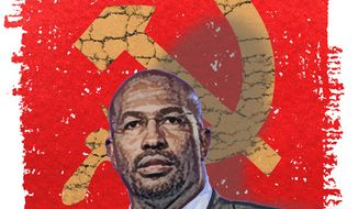 Illustration: Van Jones by Greg Groesch for The Washington Times