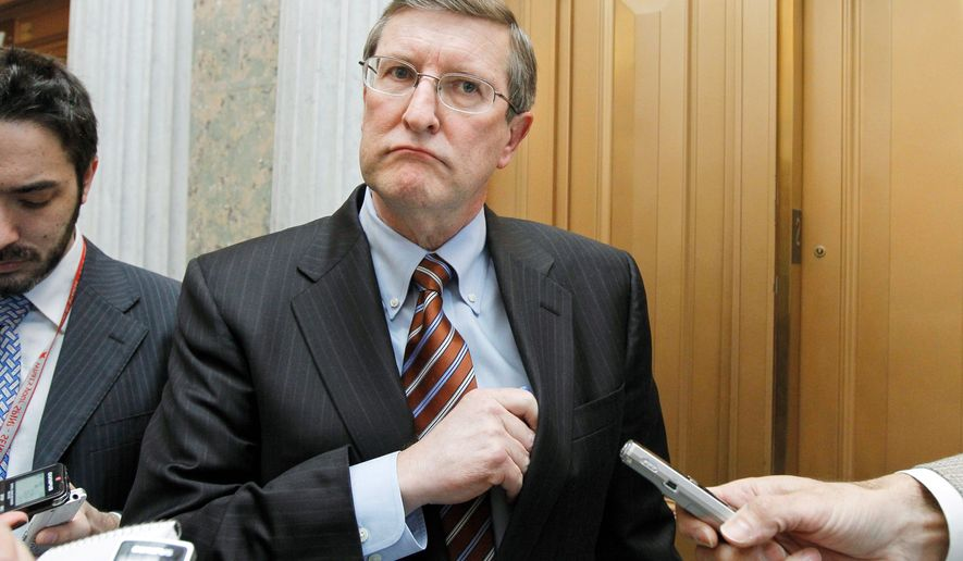 """Honestly, I think this two-week business is not the way to go. I think there should be a longer-term agreement, hopefully through the end of the year,"" said Sen. Kent Conrad, North Dakota Democrat. (Associated Press)"