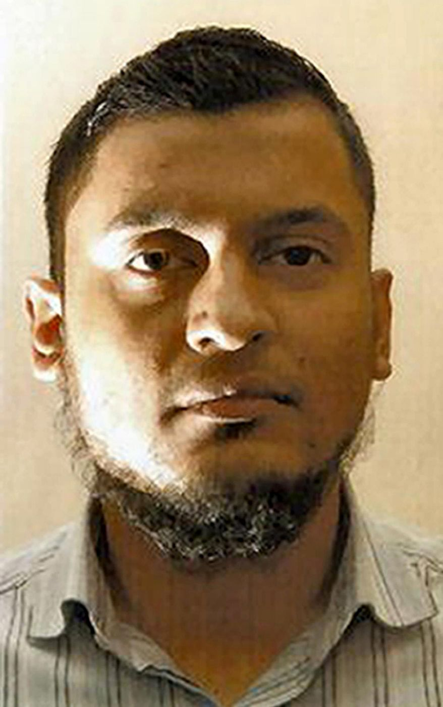 Rajib Karim was found guilty on Monday, Feb. 28, 2011, at Woolwich Crown Court in London of plotting to blow up a plane while working as a computer specialist with British Airways. (AP Photo/Metropolitan Police, HO/PA Wire)