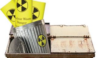 Illustration: Nuclear waste