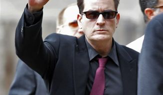 "FILE-  In this file photo provided by ABC News, Andrea Canning interviews actor Charlie Sheen Saturday, Feb. 26, 2011, in Los Angeles for a Special Edition of 20/20 which aired Tuesday, March 1, 2011. Sheen told Canning he is 100 percent clean and plans to show up for work despite CBS's pulling the plug on this season's production of ""Two and a Half Men."" (AP Photo/ABC News, FILE)"
