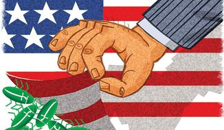 Illustration: Islam by Alexander Hunter for The Washington Times