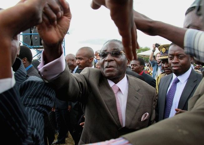 Zimbabwean President Robert Mugabe has ruled since 1980. Violence against opposition supporters, their families and areas known to have voted against Mr. Mugabe has increased as the opposition picks up support. (Associated Press)