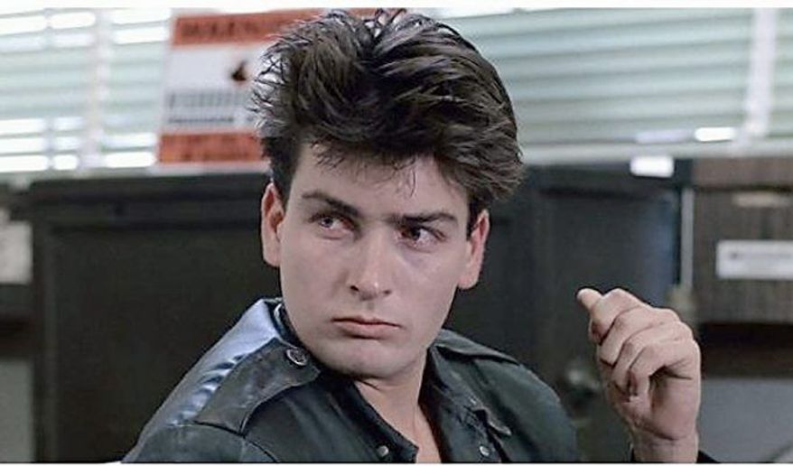 "Charlie Sheen's first word from ""Ferris Bueller's Day Off"" was an omen of things to come."