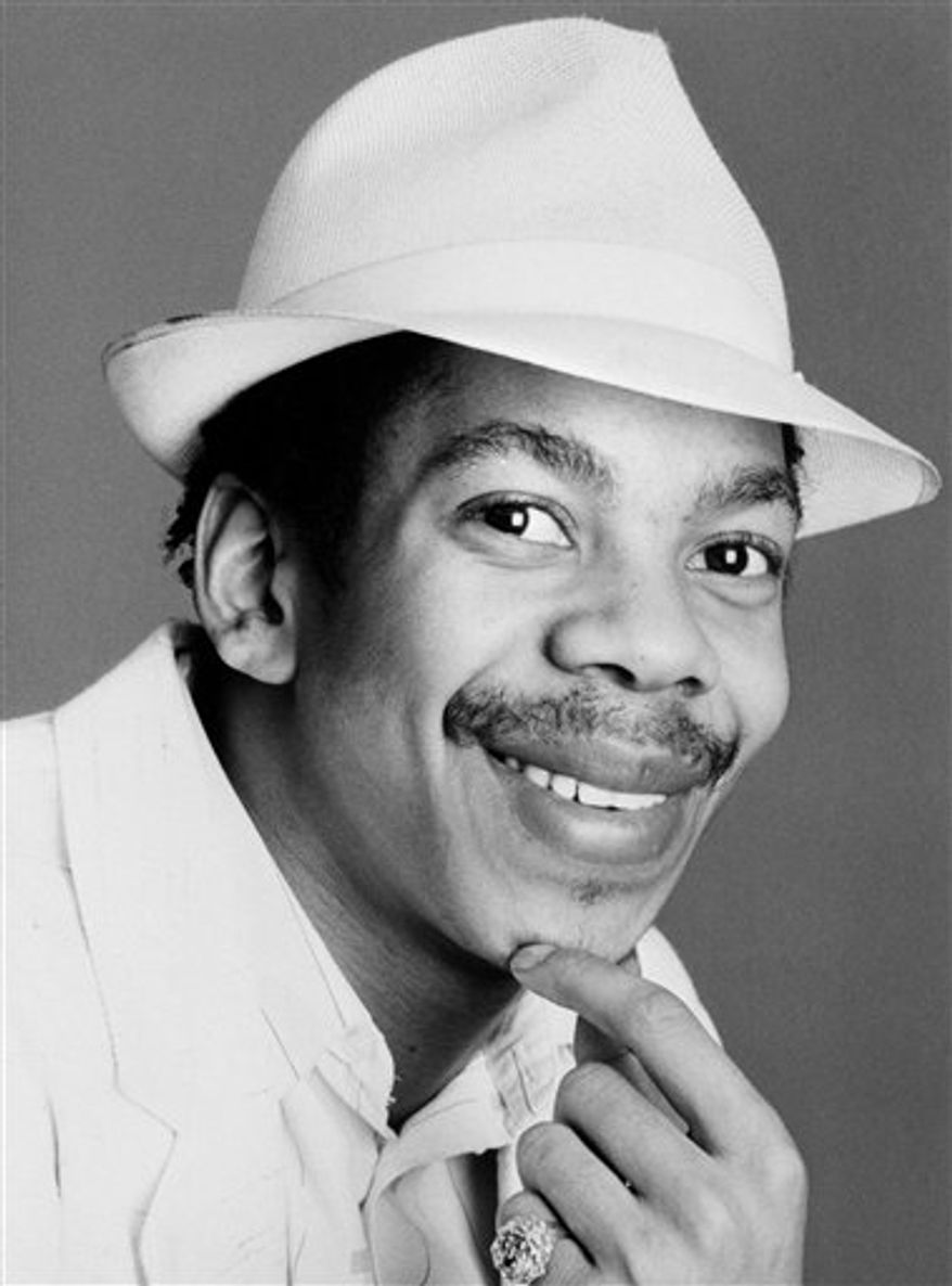 File - Photo dated April 27 1987 of reggae star Smiley Culture.  British media are reporting Tuesday March 15 2011,  reggae star Smiley Culture has died during a police drugs raid on his home. The London-born musician _ whose real name is David Emmanuel _ reportedly died from self-inflicted wounds Tuesday when police officers swooped on his home in east Surrey, according to Britain's Press Association. The reggae singer had appeared before magistrates in September last year charged with conspiracy to supply cocaine. He was 48.  (AP Photo / file) UNITED KINGDOM OUT - NO SALES - NO ARCHIVE