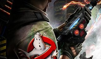 """A scene from """"Ghostbusters: Sanctum of Slime"""" is shown in this video game image released by Atari. (AP Photo/Atari)"""