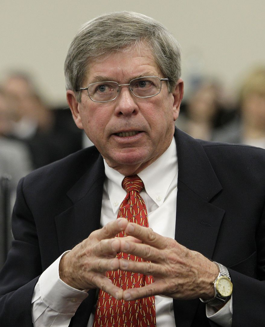 Kentucky Medical Association attorney Bill Doll addresses the House Appropriations and Revenue Committee about the shortfall in Medicaid funding in Frankfort, Ky., Tuesday, March 15, 2011. (AP Photo)