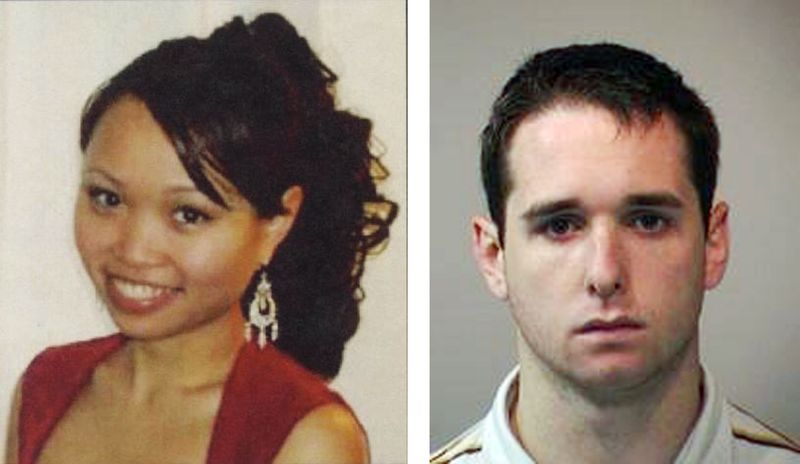 Raymond Clark III (right), a former animal research technician at Yale University, pleaded guilty on Thursday, March 17, 2011, to the murder and sexual assault of Yale graduate student Annie Le (left) in 2