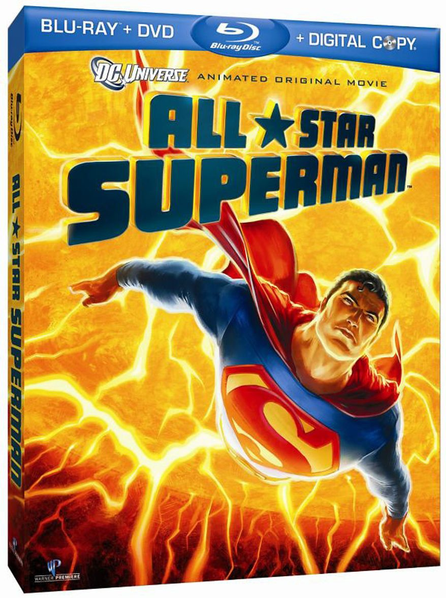 All-Star Superman from Warner Home Video