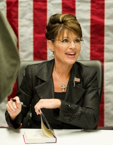 Sarah Palin is appearing in foreign forums this weekend in India and Israel to beef up her foreign policy bona fides and create global photo-ops for her political future. (Associated Press)