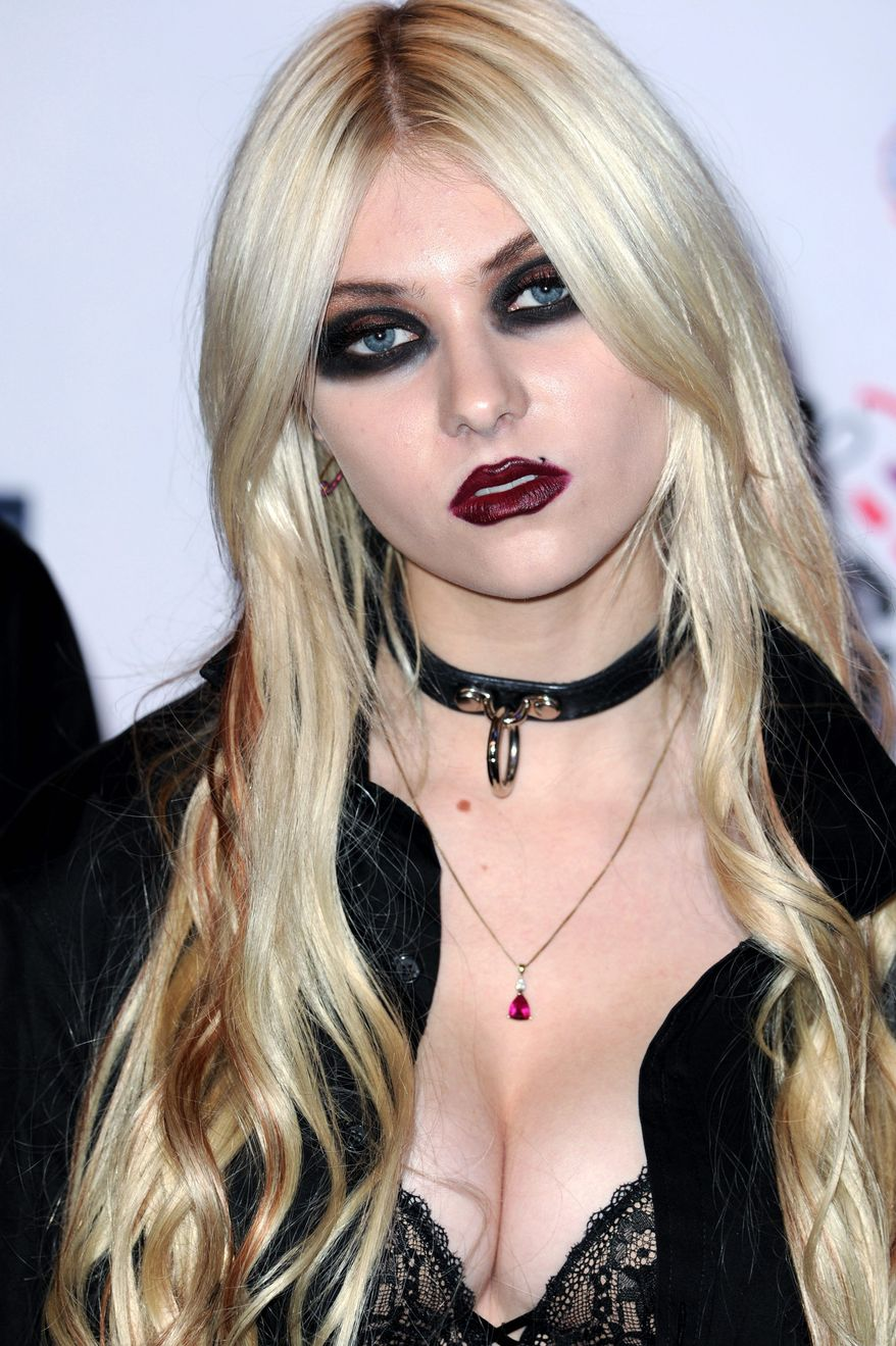 """Taylor Momsen has been approached to co-host """"The X Factor."""" (Associated Press)"""