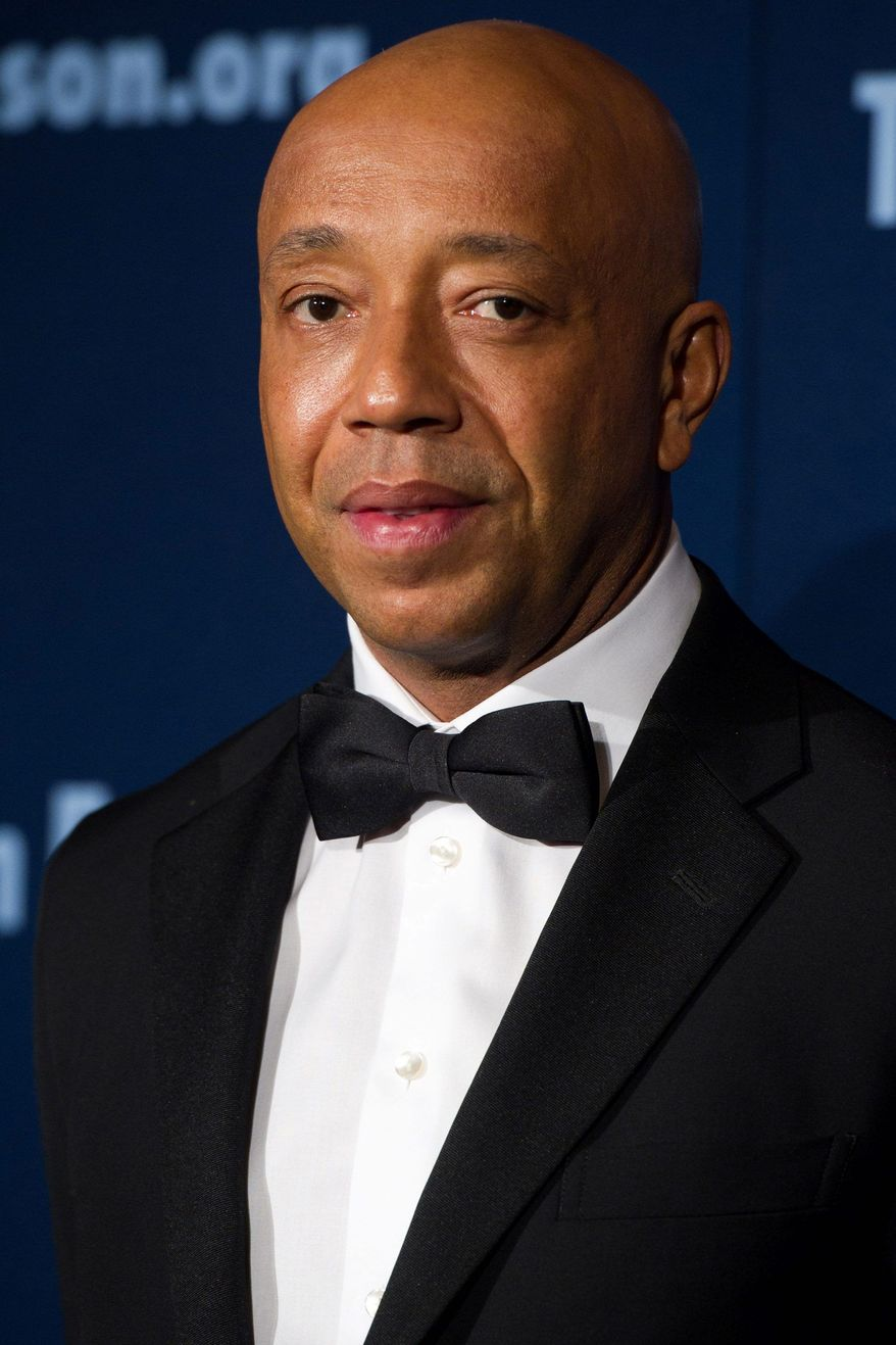 Russell Simmons received GLAAD's Excellence in Media Award. (Associated Press)