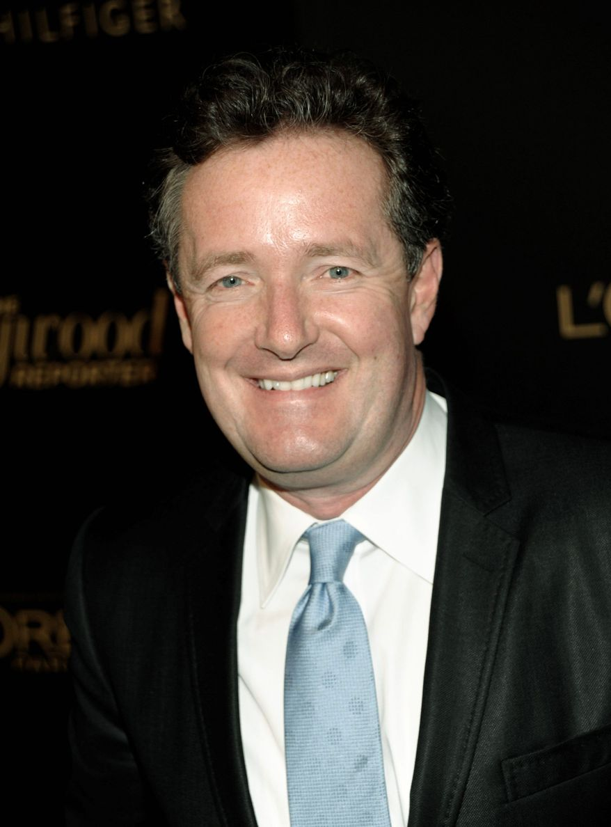 Piers Morgan is among the headliners helping beef up CNN's image as a substantive news network not focused on political debate. (Associated Press)