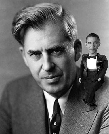 Illustration: Henry Wallace and Obama