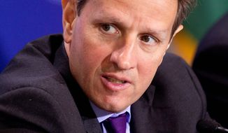 U.S. Treasury Secretary Timothy F. Geithner said he doesn't think Japan's troubles will affect U.S. borrowing costs and interest rates. (Bloomberg)