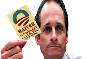 Illustration: Rep. Anthony Weiner