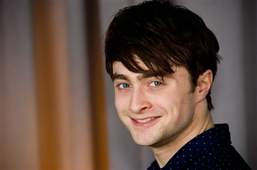 In this March 17, 2011 photo, actor Daniel Radcliffe poses for a portrait in New York. (AP Photo/Charles Sykes)