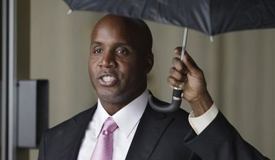 In an image provided by the U.S. District Court for the Northern District of California, the first page of the jury's verdict form shows that jurors were unable to reach a verdict on three of the charges against Barry Bonds in his perjury trial, Wednesday, April 13, 2011, in San Francisco. Bonds was convicted of a single charge of obstruction of justice. (AP Photo/U.S. District Court for the Northern District of California)