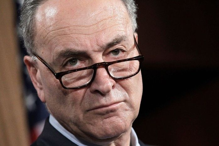 ** FILE ** Sen. Charles E. Schumer, New York D