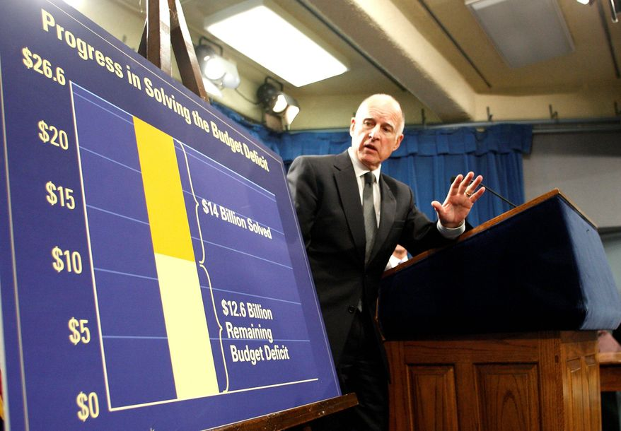 BLOOMBERG Jerry Brown, governor of California, says he still has time to get a referendum on the ballot in June to extend $9.3 billion in tax increases, the cornerstone of his effort to balance the state's budget.