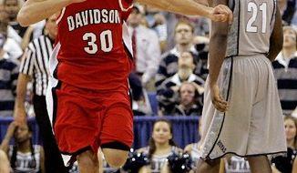 Davidson guard Stephen Curry, 2008 Elite Eight
