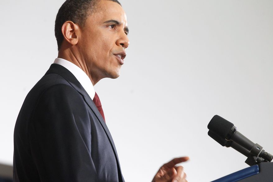 Associated Press President Obama addresses the nation Monday night on the military intervention in Libya, but from the National Defense University, rather than the Oval Office.