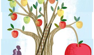 School choice (Illustration by Linas Garsys for The Washington Times)