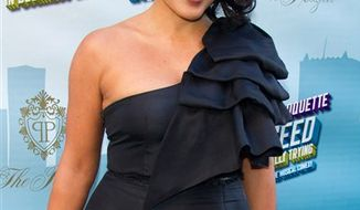 "FILE - In this March 27, 2011 file photo, actress Sara Ramirez arrives for the opening night performance of the Broadway musical ""How to Succeed in Business Without Really Trying"" in New York. (AP Photo/Charles Sykes, file)"