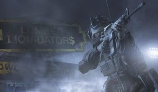 A screen shot from the video game Homefront