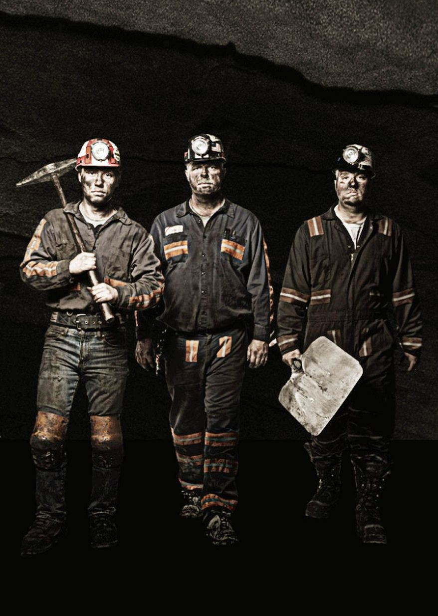 """There's nothing on this show fake,"" says one of the miners on the reality TV series ""Coal."" The show debuts Wednesday."