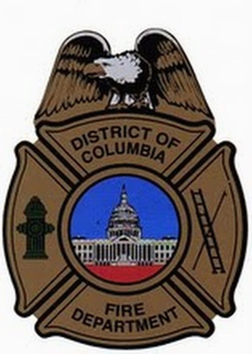 Chief Kenneth B. Ellerbe last week ordered that the pre-2007 D.C. Fire Department logo (right) replace the new seal featuring a Maltese eagle (above).
