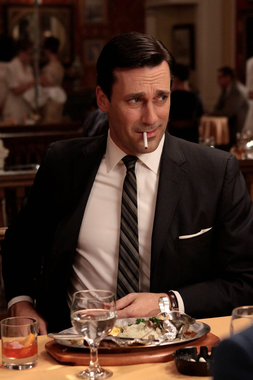 "Jon Hamm and his ""Mad Men"" co-stars will return to AMC for a fifth season, but not till 2012."