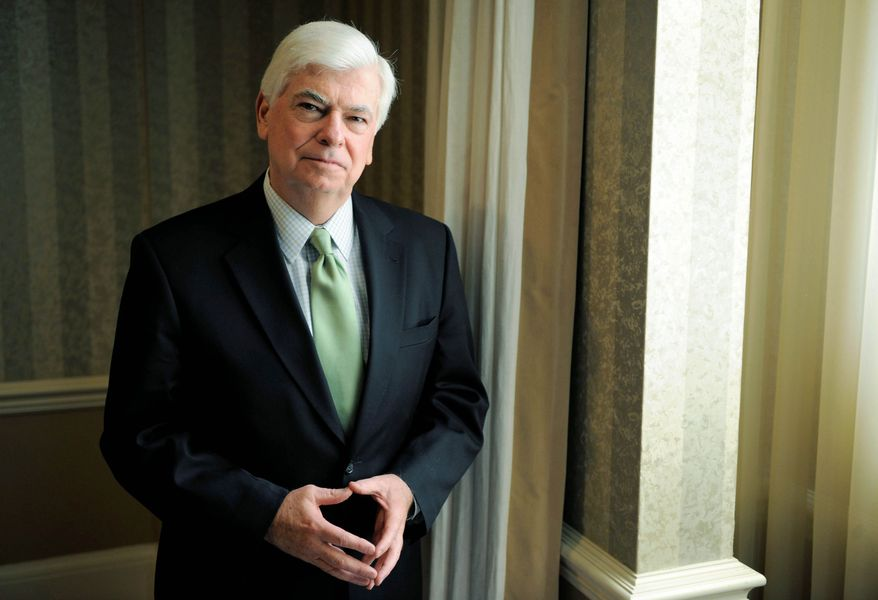 """""""I think there's an opportunity to really educate people about the economics of this business,"""" says Chris Dodd, the new head of the Motion Picture Association of America. (Associated Press)"""