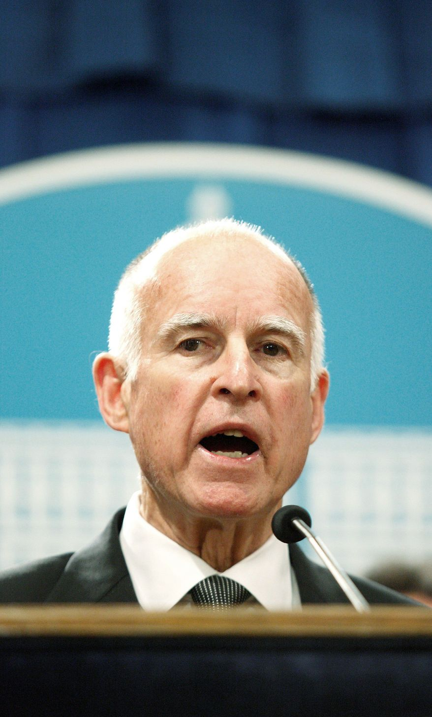 """There's more than one way to get to the goal, ... I'm going to find a way to get our budget balanced,"" says Calif. Gov. Jerry Brown. (Bloomberg)"