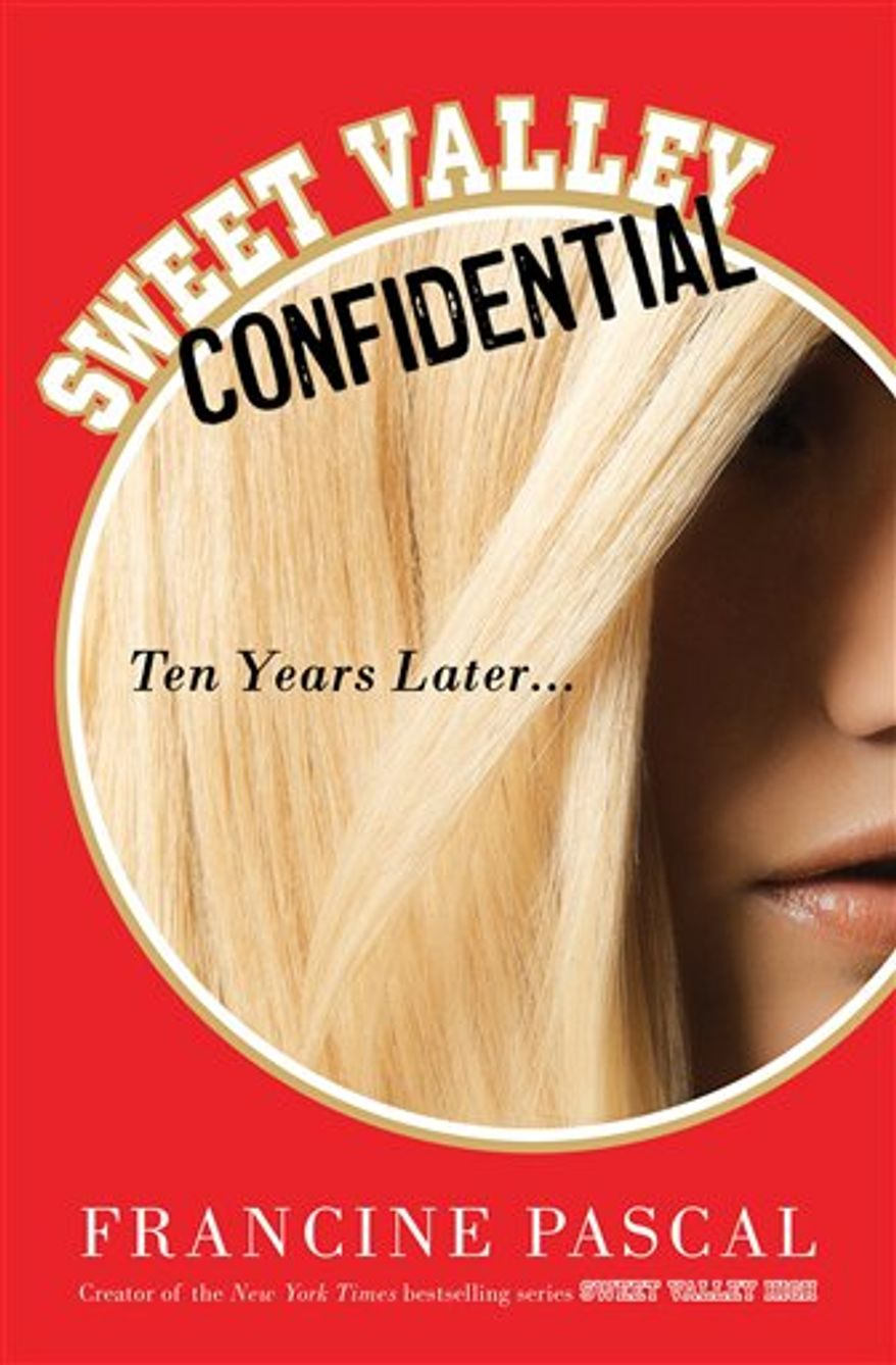 "In this book cover image released by St. Martin's Press, ""Sweet Valley Confidential,"" by Francine Pascal, is shown. (AP Photo/St. Martin's Press)"