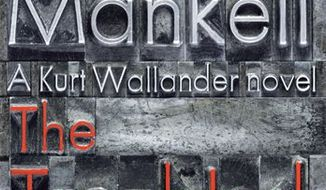 "In this book cover image released by Knopf, ""The Troubled Man,"" by Henning Mankell is shown. (AP Photo/Knopf)"