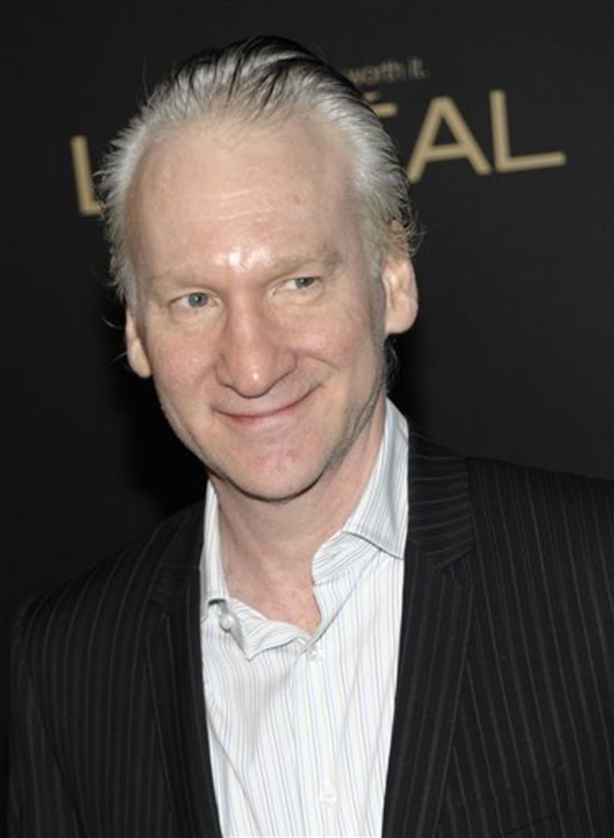 """FILE - In this Feb. 24, 2011 file photo, Bill Maher, host of the HBO show, """"Real Time with Bill Maher,"""" arrives at the The Hollywood Reporter Academy Awards Pre-Party in Los Angeles. The satirist has a deal for """"The New New Rules,"""" to be published by Penguin Group (USA) in November. (AP Photo/Dan Steinberg, file)"""