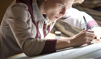 """In this publicity image released by HBO, Claire Danes portrays Temple Grandin in a scene from the HBO film, """"Temple Grandin.""""  (AP Photo/HBO, Van Redin)"""