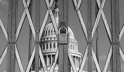 Illustration: Shuttered Congress