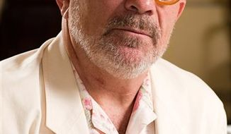 FILE - In this June 21, 2010 file photo, David Mamet poses for a portrait in New York. (AP Photo/Charles Sykes, file)