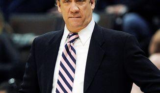 Former Wizards coach Flip Saunders is now an advisor to the Celtics and has been reuinted with former pupil Kevin Garnett. (Associated Press)