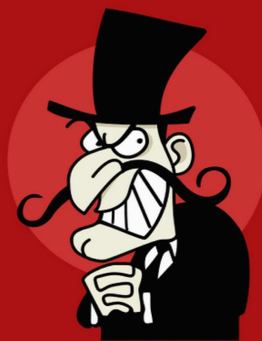 Fiscally conscientious Republicans remind some people of Snidely Whiplash.