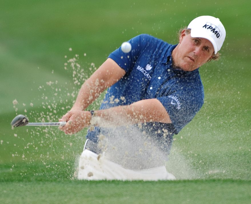 American Phil Mickelson has triumphed at the Masters three times since 1999, when Spaniard Jose Maria Olazabal was the last European to win the tournament. (Associated Press)